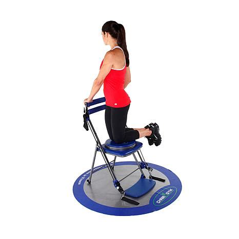 chair exercise system with seat and workout