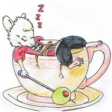 In Dormouse Drawing by Mallymkun The Dormouse By Guukan Mangaka On Deviantart