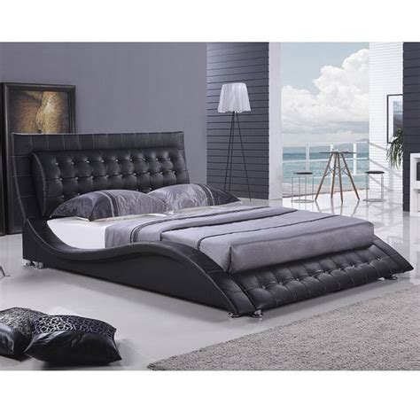 Modern Platform Bed King Dublin Modern King Size Platform Bed By Matisse Feelings Platform Beds And Leather