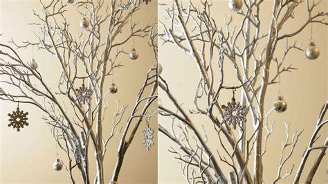 193 rbol de navidad con ramas plateado en decoraci 243 n