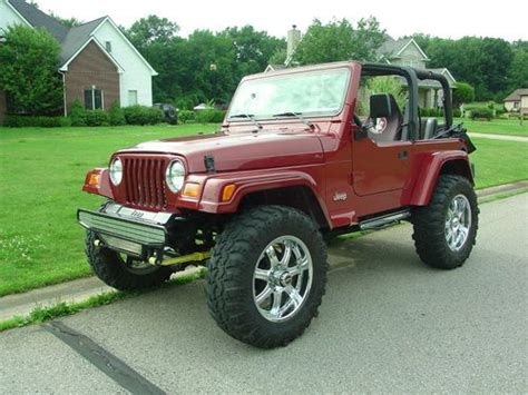 custom convertible jeep find used 1999 jeep wrangler custom 350 chevy short block