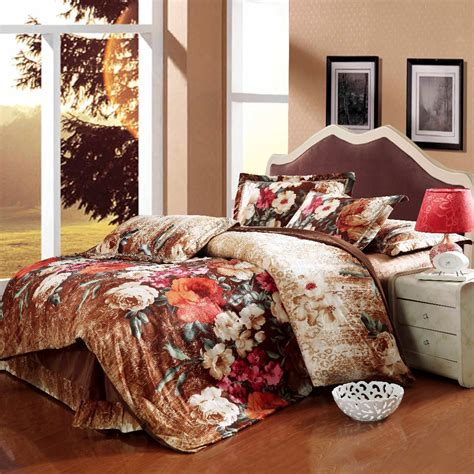 velvet comforters king size luxury fleece fabric velvet comforter wedding bedding sets