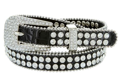 Rhinestone Belt 9011 s rhinestones studded fashion belt 3 4 quot wide