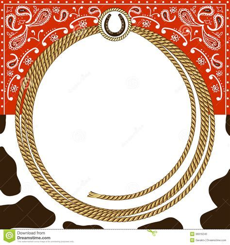 Cowboy Card Background Stock Photo   Image: 36916240