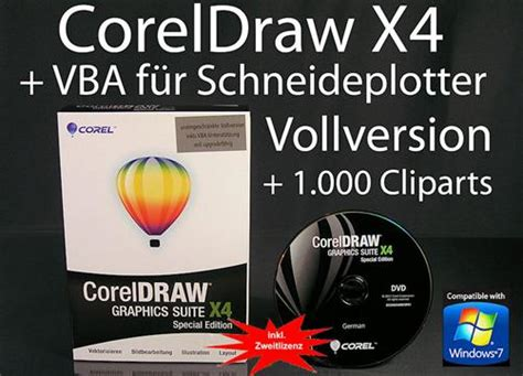 corel draw x4 ebay corel draw x4 vollversion box vba f 252 r schneideplotter ebay