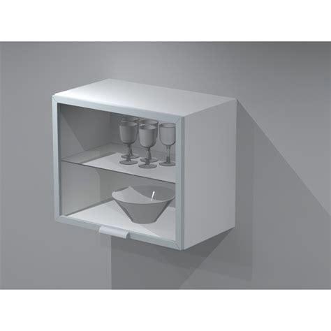 meuble haut cuisine largeur 50 cm meuble haut en verre lift 60cm de largeur