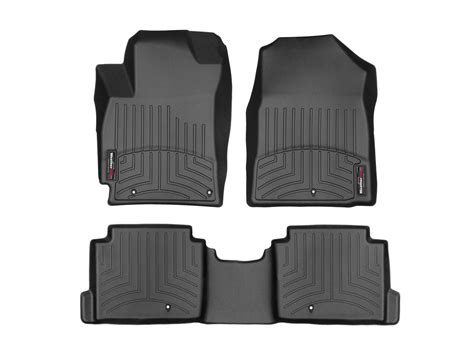 weathertech floor mats floorliner for hyundai elantra sedan 2017 ebay