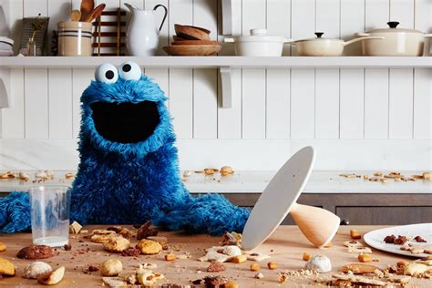 Kitchen Settings Design what happened when cookie monster came to the food52 office