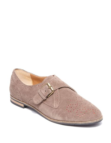 dv oxford shoes dv by dolce vita mello suede oxfords in beige taupe lyst