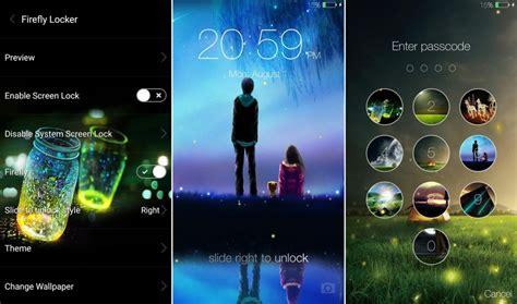 themes android mod fireflies lockscreen apk mod no ads android apk mods