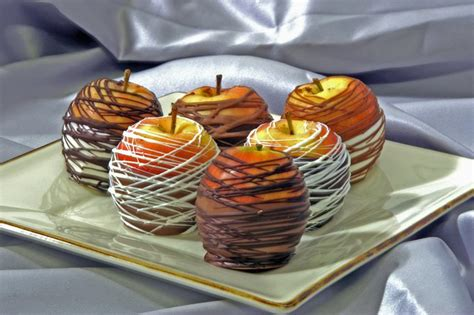 How To Build A Bookcase Chocolate Dipped Caramel Apples For Chocolate Monday