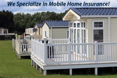 mobile home insurance f a peabody