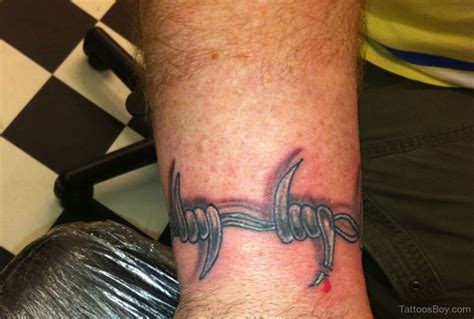 barbed wire tattoo meaning collection of 25 barbed wire on wrist