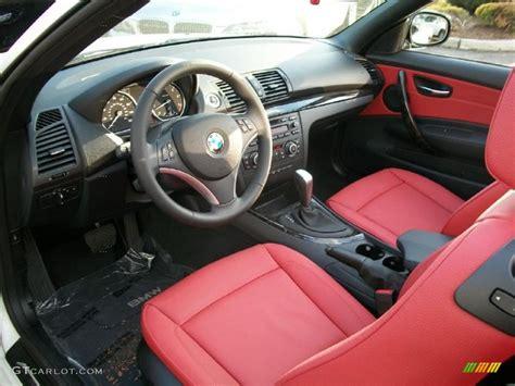 coral interior 2011 bmw 1 series 128i convertible
