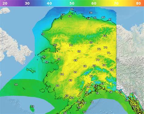 alaska current weather map juneau ak