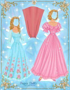Dress Cindel Fullflow Pink disney s frozen paper dolls skgaleana paper dolls disney frozen and the