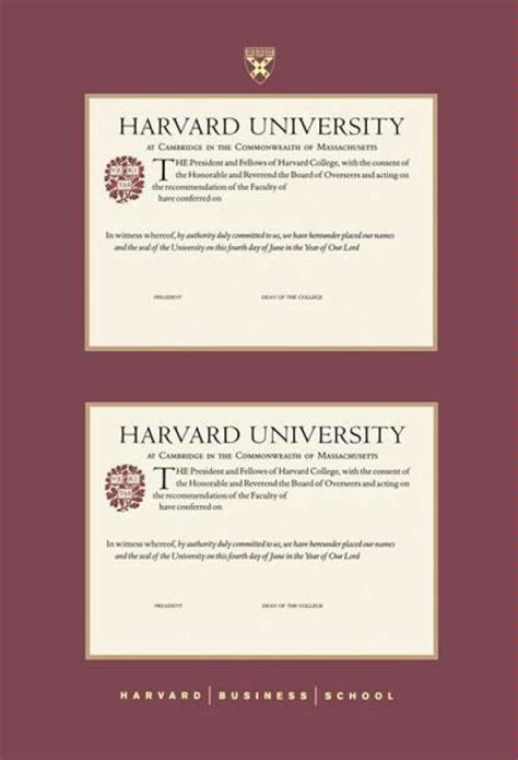 Harvard Mba Certificates by 13 Best Images About Graduate Specific Program