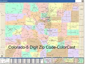 colorado zip code map from onlyglobes