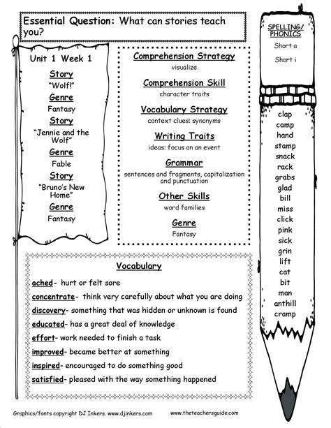 Mcgraw Hill 4th Grade Math Worksheets by Spelling Homework Worksheets Lesupercoin Printables