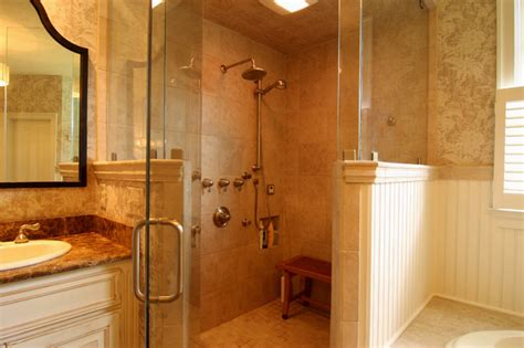 shower ideas for bathrooms corner shower with hat traditional bathroom