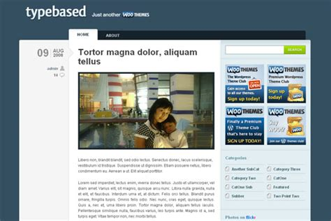 woothemes templates typebased template from woothemes
