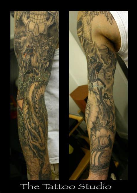 quarter sleeve arm tattoo quarter sleeve tattoo ideas wallpaperpool