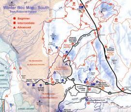 mammoth lakes area maps inyo mono county eastern
