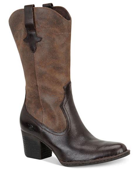 boots at macys born sonoma cowboy boots shoes macy s