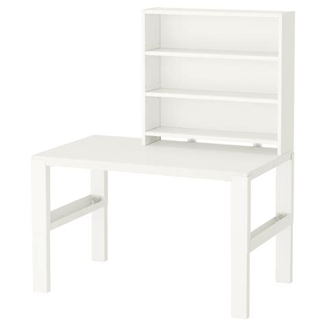 Desk With Shelf by P 197 Hl Desk With Shelf Unit White 96x58 Cm