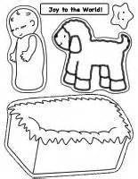 Nativity craft page for baby jesus touch n feel craft fun and easy