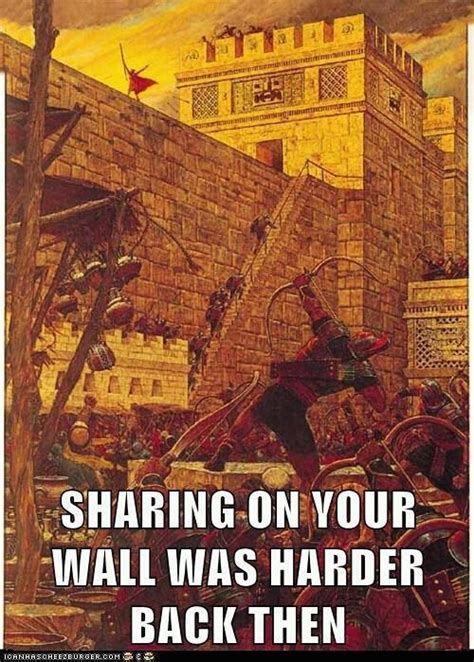 Book Of Mormon Meme - samuel the lamanite sharing on the wall churchy stuff