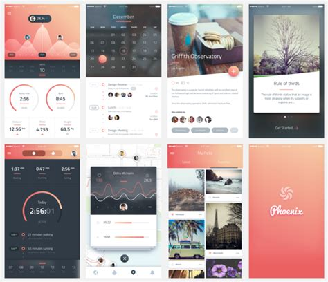 app design kit amazing mobile ui kit sketch psd free psds sketch app