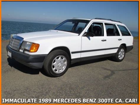 how cars engines work 1993 mercedes benz 300te interior lighting find used immaculate 1989 mercedes benz 300te estate wagon rust free ca car 3rd row seat in