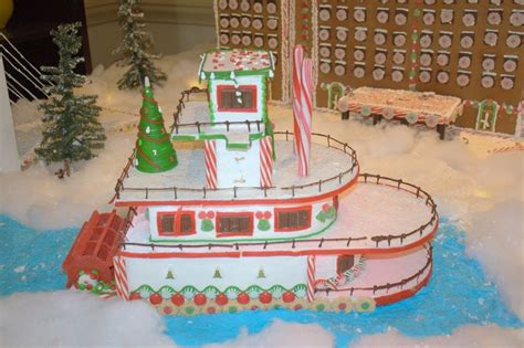 45 best gingerbread boats and ships images on pinterest