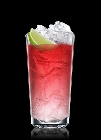 vodka tonic cranberry vodka cran ginger cocktail recipe dishmaps