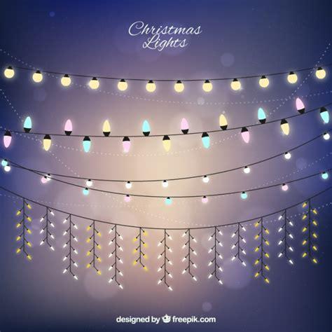 imagenes navideñas luces colecci 243 n de luces navide 241 as bonitas descargar vectores