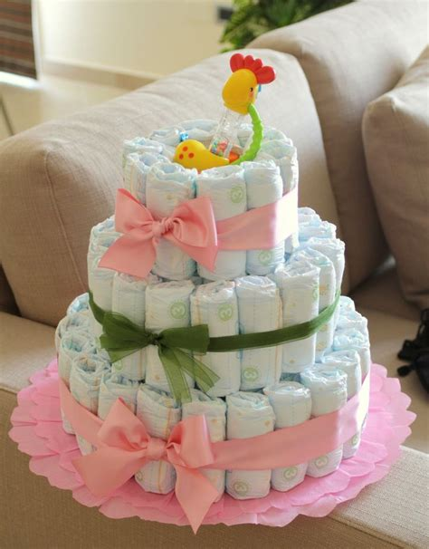 17 Best images about Diaper Cakes on Pinterest   Baby showers, Baby shower gifts and Owl