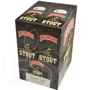 backwoods dark stout singles cigar standard