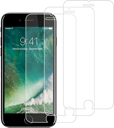 amazoncom rellot   pack tempered glass  iphone