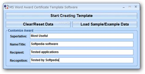 certificate template software imts2010 info