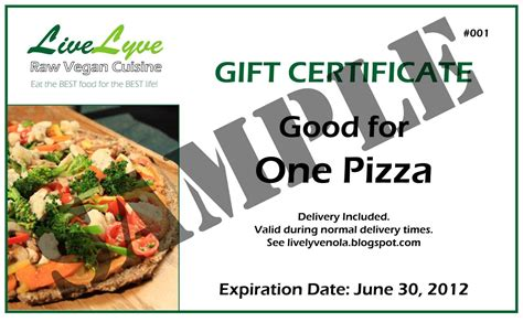 food gift certificate template food gift certificate template template update234