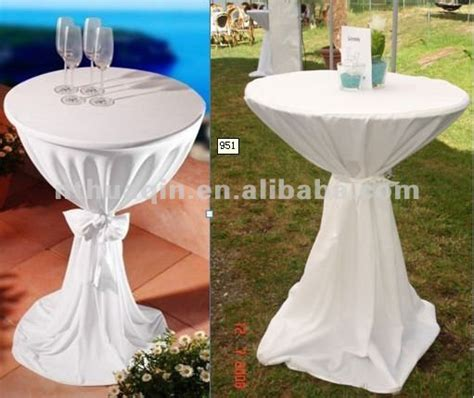100 poly jersey bistro table cover cocktail tablecloth