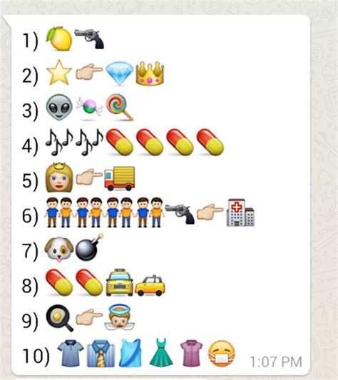 cadenas whatsapp emojis adivin 225 las canciones de los redondos con emojis de