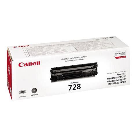 Toner Canon Canon 728 Toner Black Single Pack 3500b002aa Staples 174