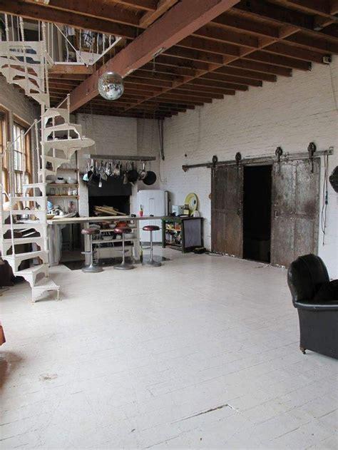 airy bohemian loft warehouse kitchen   eclectic
