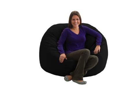 comfort research 4 foot large fuf in comfort suede comfort research 4 feet diameter large fuf chair black