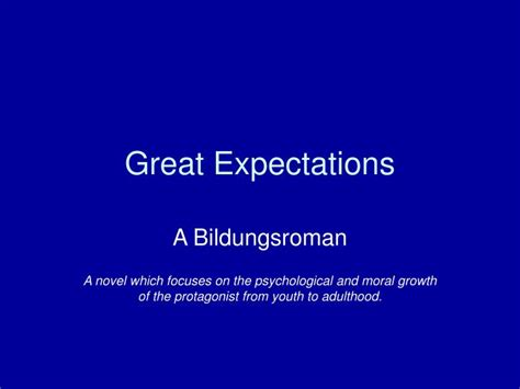great expectations themes powerpoint ppt great expectations powerpoint presentation id 6668508