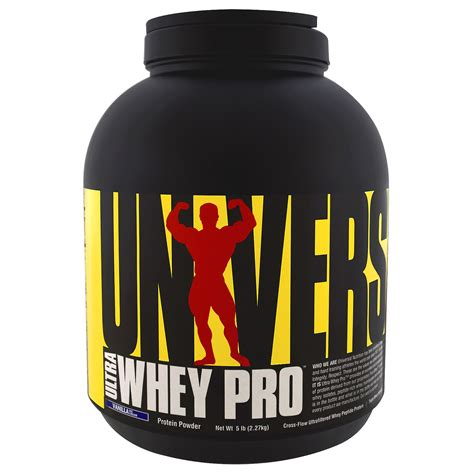 Ultra Whey Pro Universal universal nutrition ultra whey pro protein powder vanilla 5 lbs 2 27 kg iherb