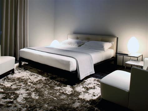 bed with removable cover winker wood by meridiani