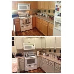 finally finished my kitchen makeover bye bye honey